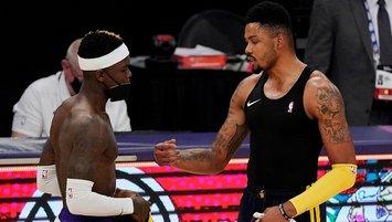 Lakers Warriors engelini rahat geçti