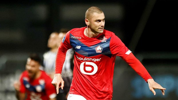 Lille'de ayın golü Burak Yılmaz'dan!