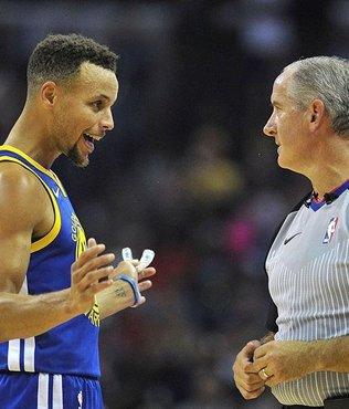 Curry'e 50 bin dolar ceza
