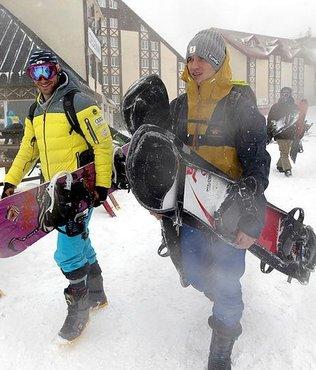 Erzurum'da kar engeli