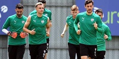 Bursaspor'da Antalyaspor maçı hazırlıkları başladı