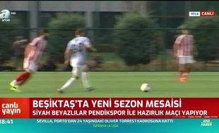 Beşiktaş'ta yeni sezon mesaisi