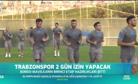 Trabzonspor 2 gün izin yapacak