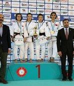 Judo Avrupa Kupası'nda 23 madalya kazanan Türkiye şampiyon oldu