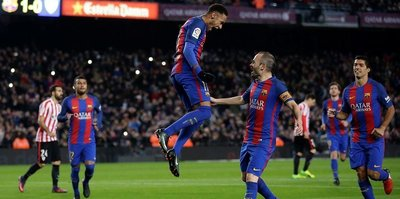 Barcelona çeyrek finalde!