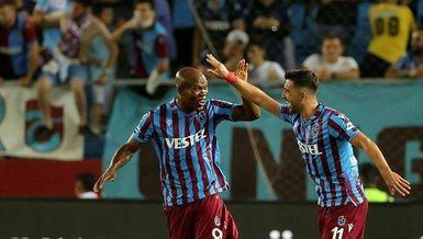 Trabzonspor'un süper ikilisi Bakasetas ve Nwakaeme!