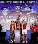 Ezeli rekabetin espor şampiyonu Galatasaray Espor oldu