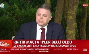 Erman Toroğlu: Başakşehir yenerse lig biter