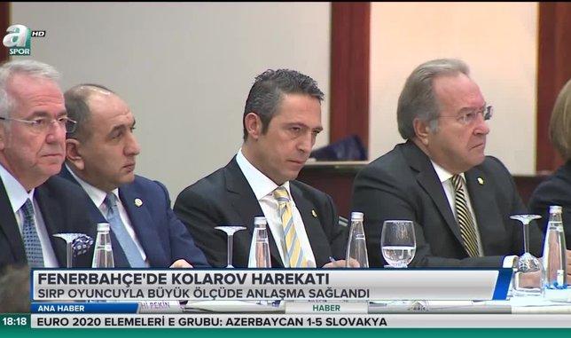 Fenerbahçe'de Kolarov harekatı