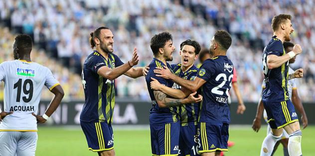 İstatistiklerde lider Fenerbahçe