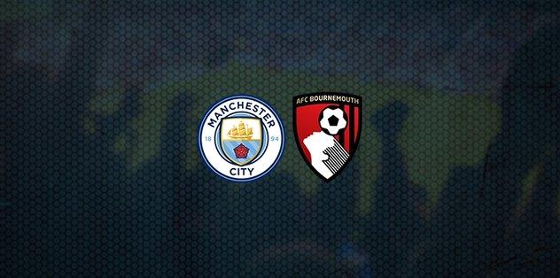Manchester City-Bournemouth maçı ne zaman? Saat kaçta? Hangi kanalda canlı yayınlanacak? - Futbol -
