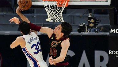 Son dakika spor haberi: Furkan Korkmaz'lı Philadelphia 76ers Cedi Osman'ın takımı Cavaliers'ı yendi