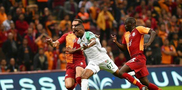 Bursaspor ile Galatasaray ligde 100'üncü randevusunda