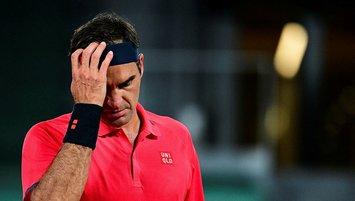 "Federer'den üzen haber! ""Fransa Açık'tan..."""