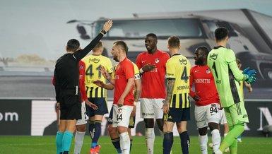 İşte Fenerbahçe Gaziantep FK maçında sayılmayan gol!