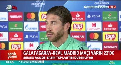 Sergio Ramos: Tek düşüncemiz maçı kazanmak