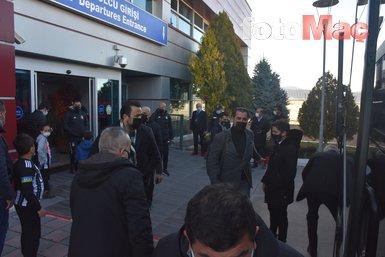 Son dakika spor haberleri: Beşiktaş'a Malatya'da coşkulu karşılama!
