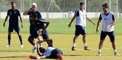 Antalyaspor'da Göztepe hazırlığı sürdü