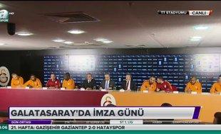Galatasaray'da yeni transferler imzaladı