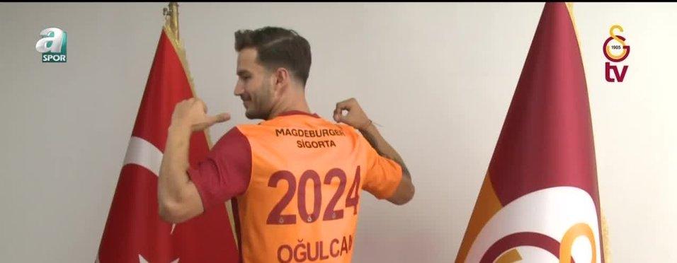 Oğulcan Çağlayan resmen Galatasaray'da!