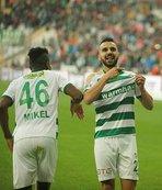 Bursaspor'dan A.Konyaspor'a büyük üstünlük
