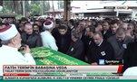 Fatih Terim'in babası Talat Terim son yolcuğuna uğurlandı