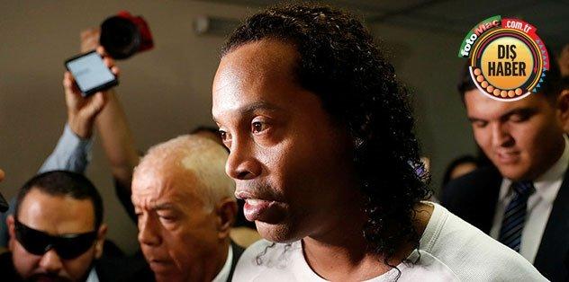 Hapisteki Ronaldinho'ya ikinci şok! Corona virüsü...