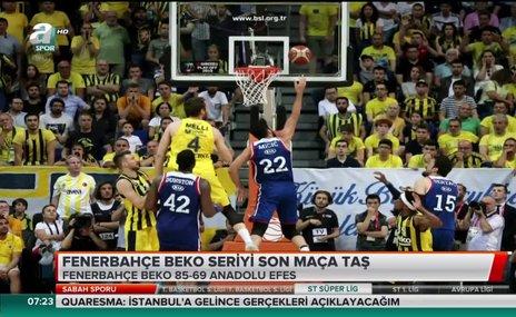 Fenerbahçe Beko seriyi son maça taşıdı