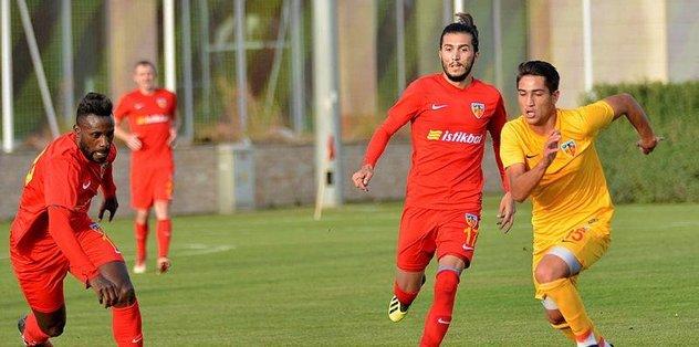 Kayseri'den A2'ye 4 gol