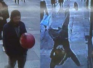 Balona röveşata atan genç futbolcu oldu .