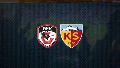 Gaziantep FK - Kayserispor maçı ne zaman, saat kaçta ve hangi kanalda canlı yayınlanacak?   Süper Lig
