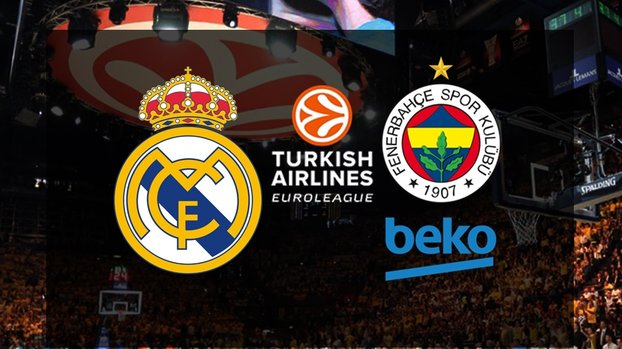 THY Euroleague   Real Madrid - Fenerbahçe Beko CANLI