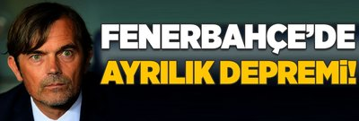 Fenerbahçe'de ayrılık şoku!