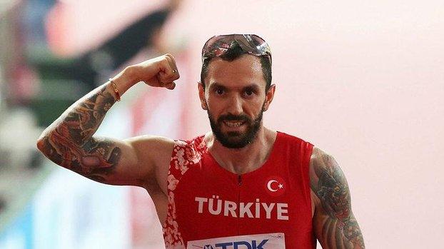 Son dakika spor haberleri: Milli atlet Ramil Guliyev Fransa'da ikinci oldu