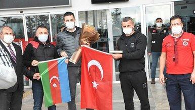 Sivas'ta Karabağ'a coşkulu karşılama