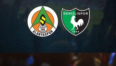 Alanyaspor - Denizlispor maçı ne zaman, saat kaçta ve hangi kanalda?