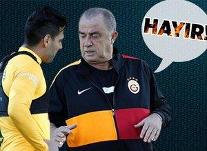 Ankaragücü maçı öncesi Falcao Fatih Terim ile görüştü!
