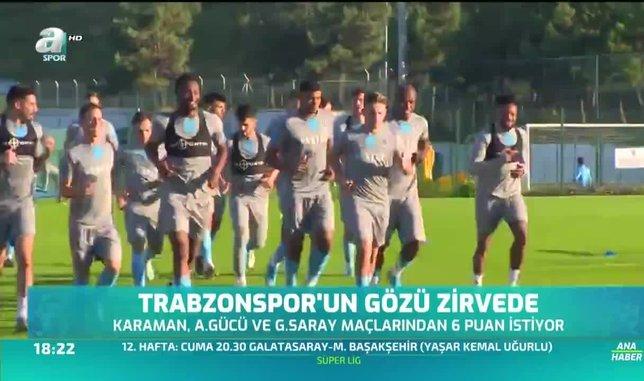 Trabzonspor'un gözü zirvede