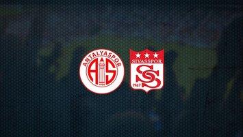 Antalyaspor - Sivasspor maçı saat kaçta ve hangi kanalda?