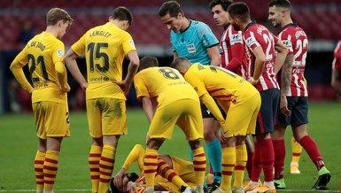Barcelona'da Gerard Pique şoku! 4-6 ay sahalardan uzak kalabilir