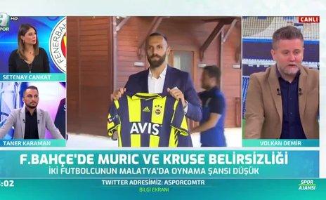 Fenerbahçe'ye Muriç ve Kruse'den kötü haber