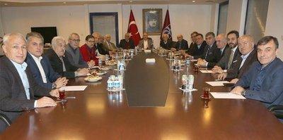 Trabzonspor'da değerlendirme toplantısı yapıldı