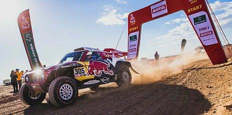 Dakar Rallisi'nde Carlos Sainz liderliğe yükseldi