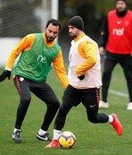 Galatasaray'da Bursaspor maçı hazırlıkları sürüyor