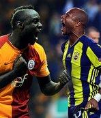 Galatasaray'da en golcü Diagne Fenerbahçe'de ise Ayew