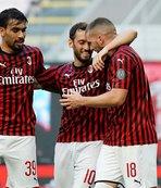 Hakan attı Milan kazandı!