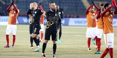 Galatasaray ve Osmanlıspor yenişemedi