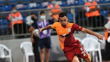 Galatasaray Lazio maçında Olimpiu Morutan'ın şutu direkte patladı! İşte o pozisyon (GS spor haberi)