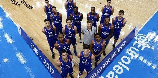 Euroleague'den Anadolu Efes'e ödül