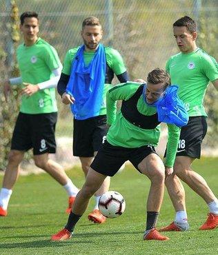 Konyaspor'da Başakşehir maçı hazırlıkları sürüyor